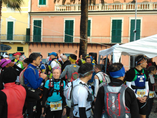 Beim Start vom Maremontana Trail