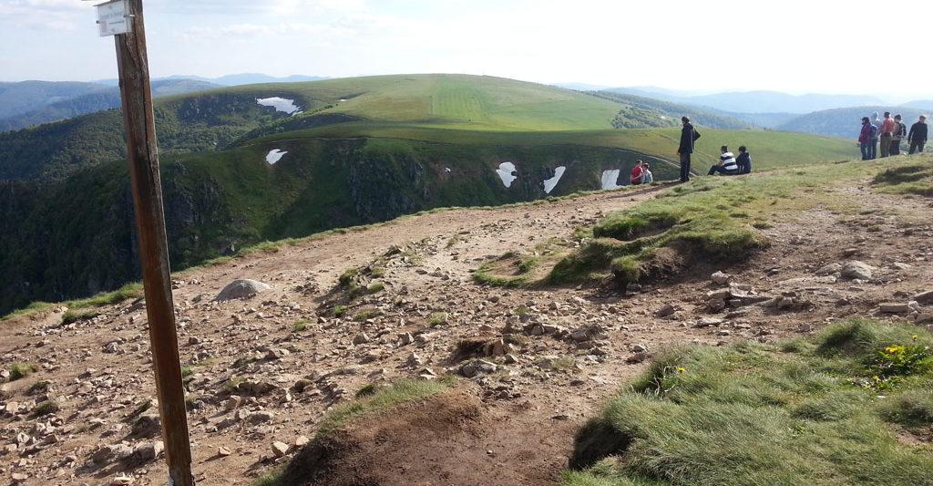 Ausblick vom Gipfel des Hohneck