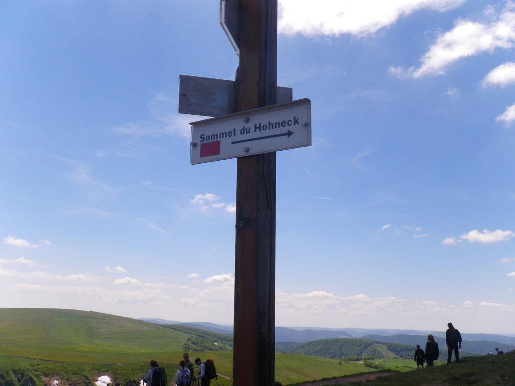 zum Gipfel des Hohneck