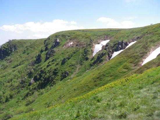 Blick auf den Sentier des Névés