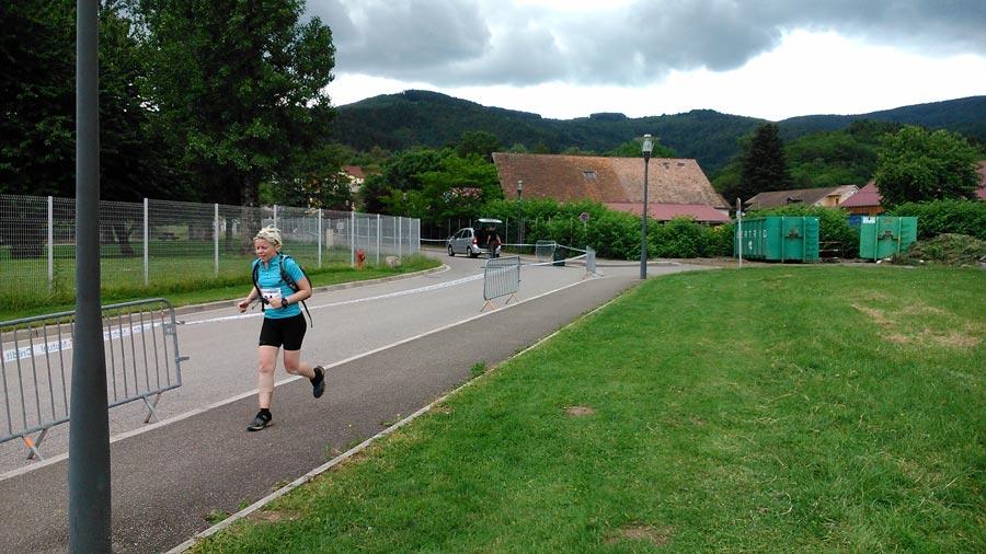 Zieleinlauf beim Maratrail 2013
