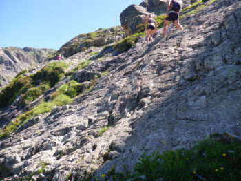 Alpe d'Huez: Wanderweg zur Refuge de la Fare