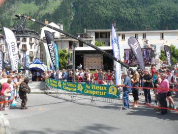 Start KMV beim Mont Blanc Marathon