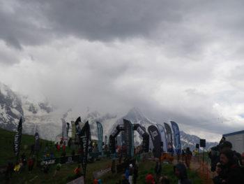Ziel beim Cross du Mont Blanc auf Planpraz