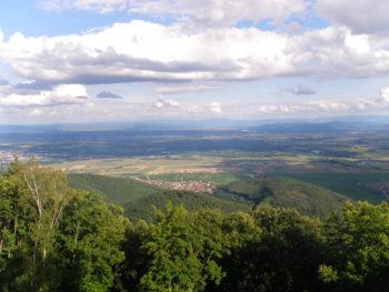 Ausblick Haut-Koenigsbourg