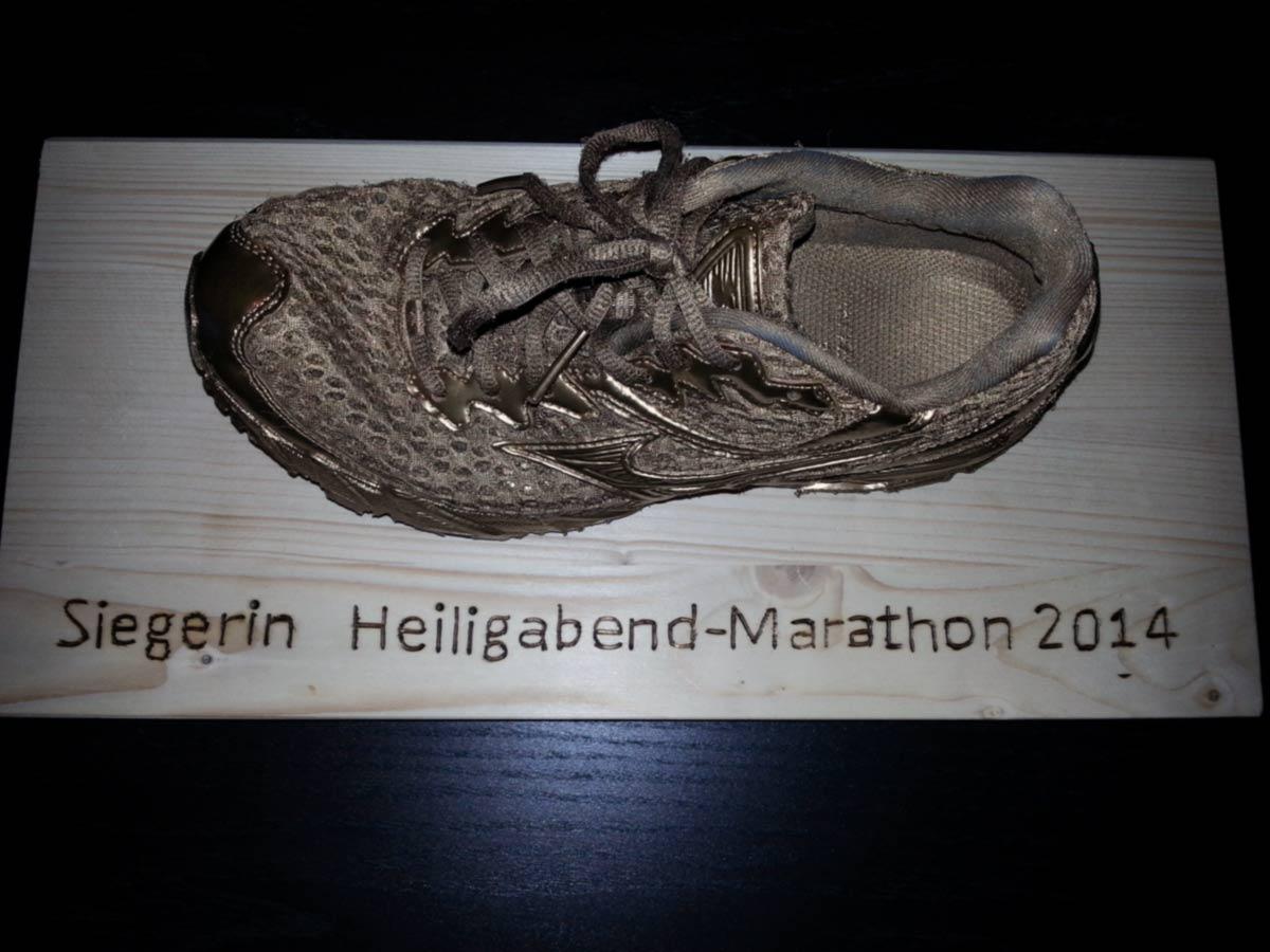 Bärenfels Heiligabend Marathon 2014 Siegerin