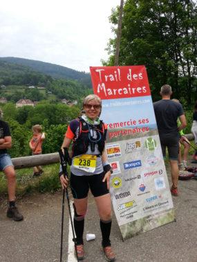 Finisher Trail des Marcaires 2015