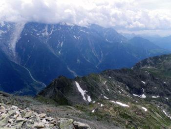 80 km du Mont-Blanc Aussicht Brévent