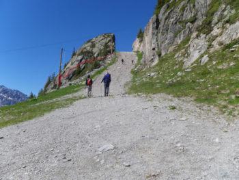 80 km du Mont-Blanc Abstieg Brévent