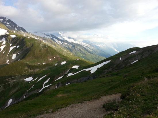 80 km du Mont Blanc - Col de Balme