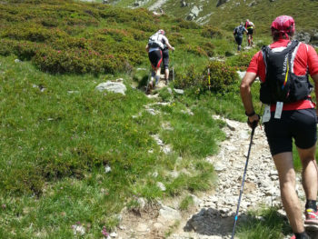 80 km du Mont-Blanc - von Lotriaz zum Col de la Terrasse