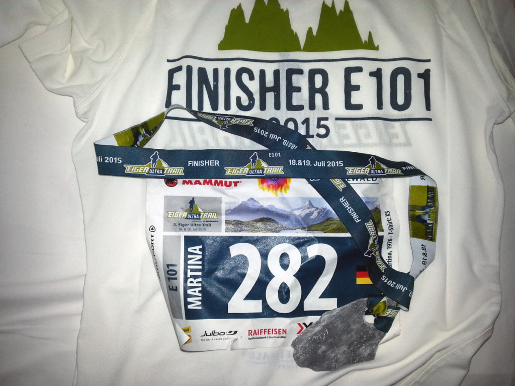 Eiger E101 Finisher