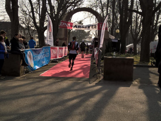 Trail du Petit Ballon 2016 Ziel