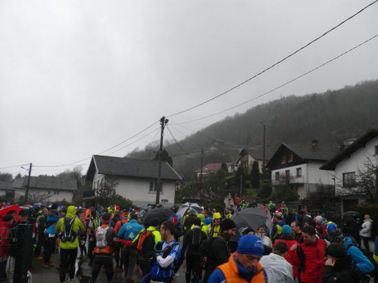 Start Trail Hivernal de la Moselotte