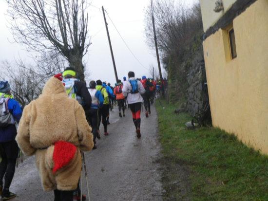 Trail Hivernal de la Moselotte - Läufer