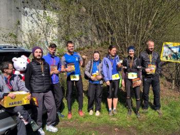Siegerehrung beim Bärenfels Mai Trail