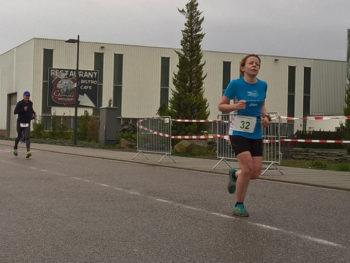 Garten Reden Haldenlauf – 1. Frau auf der Halde!
