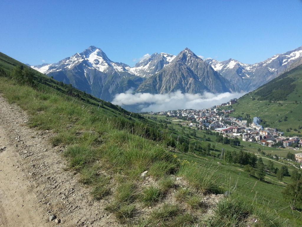 La Double Verticale du Diable - Les 2 Alpes