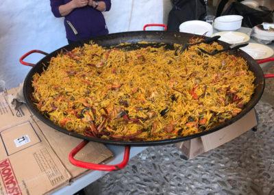 Cursa Tomir - Zielverpflegung Paella