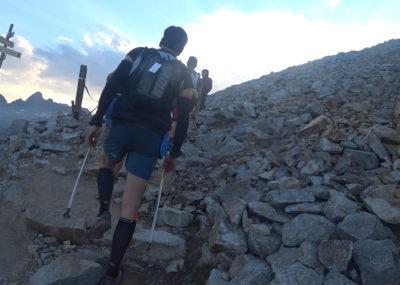 80 km du Mont-Blanc Aufstieg zum Brévent