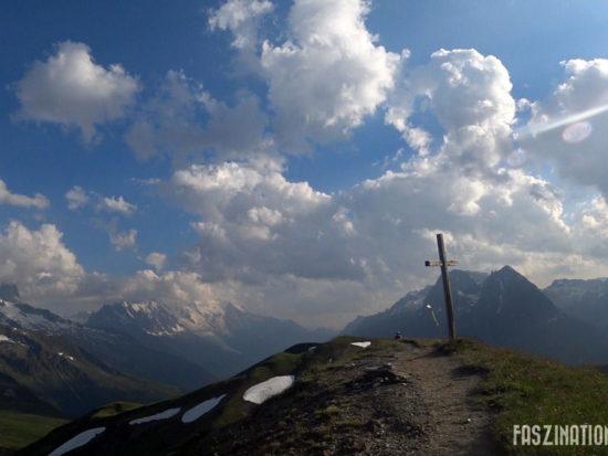 80 km du Mont-Blanc Tête de l'Arolette