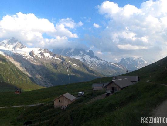 80 km du Mont-Blanc Col des Posettes