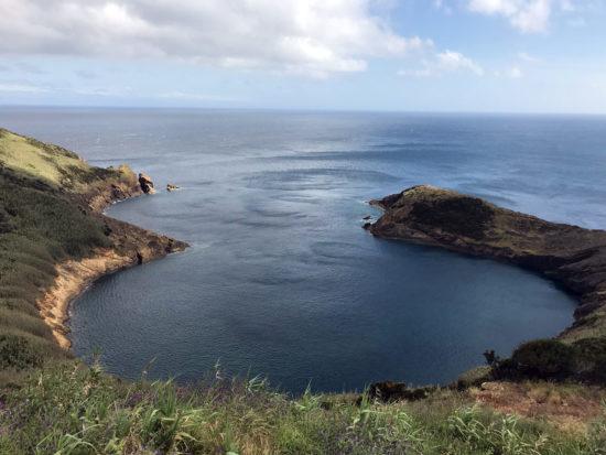 Azores Trail Run: Blick vom Monte da Guia