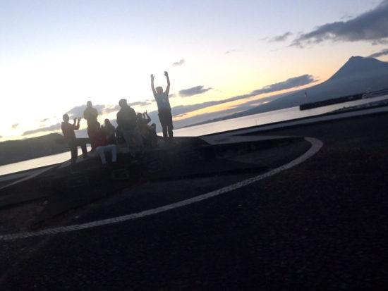 Azores Trail Run: Stimmung an der Hafenpromenade