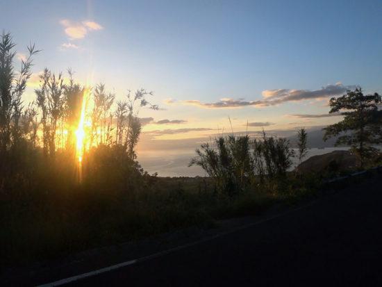 Azores Trail Run: Pico bei Sonnenaufgang