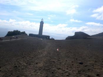 Azores Trail Run:: Ziel Capelinhos