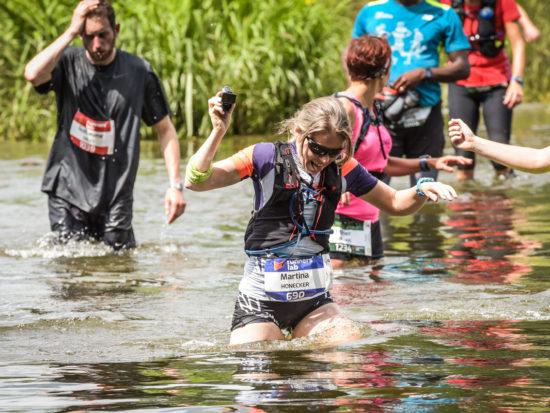 Trail d'Orval Florenville 2018 – nasse Füsse garantiert