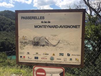 Trail des Passerelles du Monteynard 2018 - Passerelle du Drac