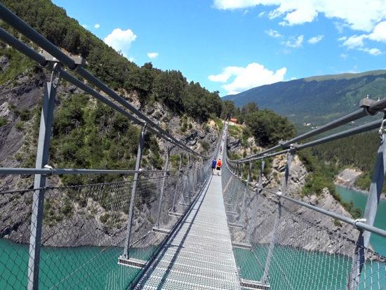 Trail des Passerelles du Monteynard 2018 – über Hängebrücken musst Du gehen
