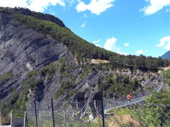 Trail des Passerelles du Monteynard 2018 - Passerelle de l'Ébron