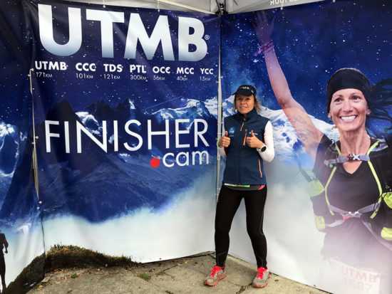 UTMB CCC 2018 Finisher