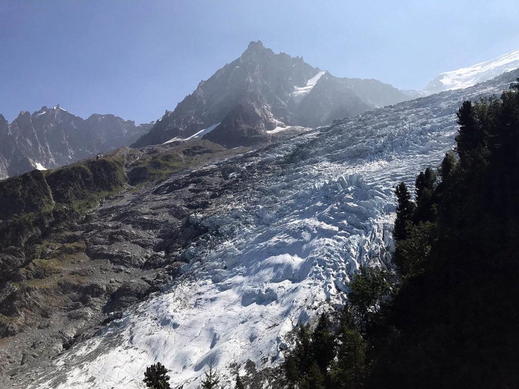 Chamonix 2018 - Glacier des Bossons