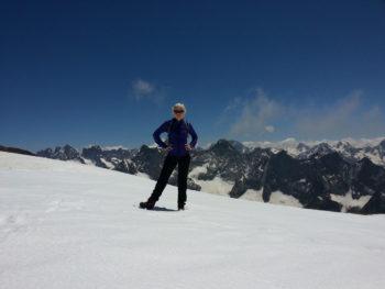 Gletscher Les Deux Alpes 3600 m