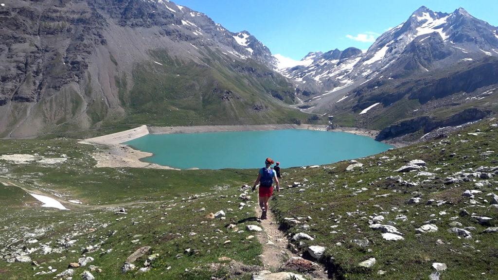 High Trail Vanoise Lac de la Sassière