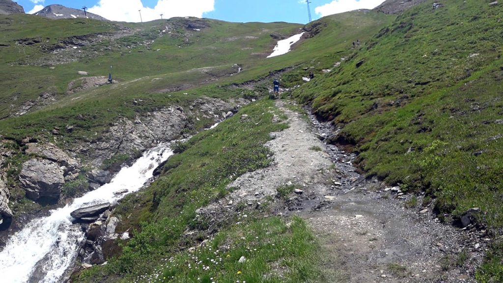 High Trail Vanoise - Weg zum Col de l'Iséran