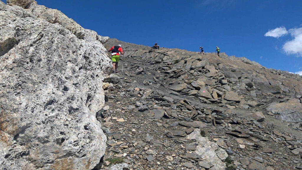 High Trail Vanoise Col Pers