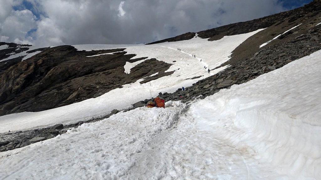 High Trail Vanoise - Glacier des Pisaillas