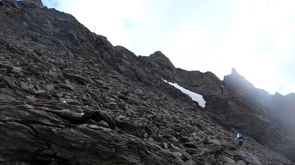 High Trail Vanoise Pointe de la Lessière