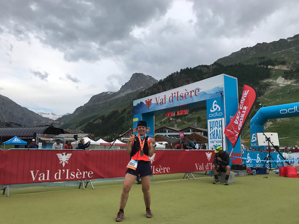High Trail Vanoise Finisher