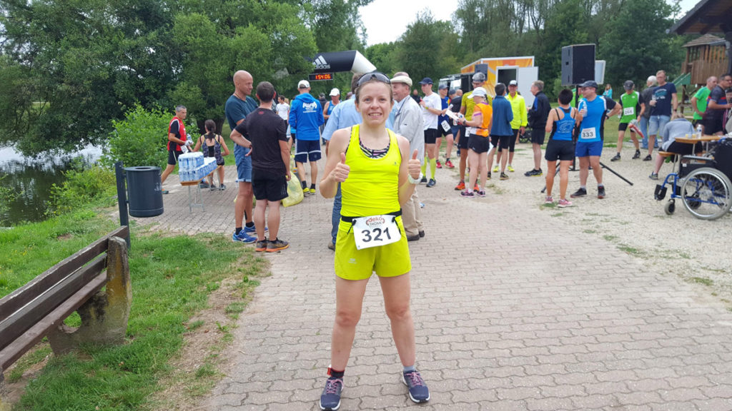 Finisher Halbmarathon Noswendel 2019