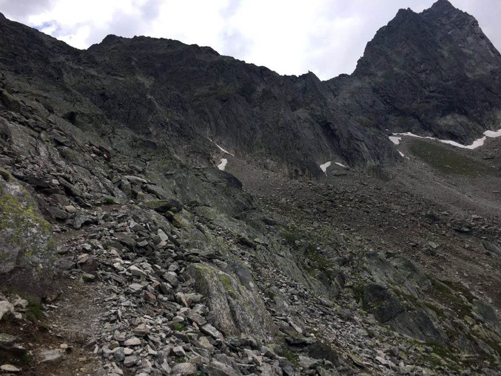 Pitz Alpine 2018 Mittelbergsee und Kaunergrat
