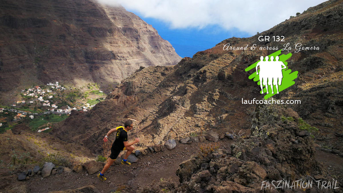 Der GR132 Around&across La Gomera by Laufcoaches.com inmitten einer sagenhaften Landschaft